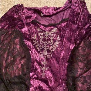 Halloween Costume ! Violet Vampire ! Super cute!
